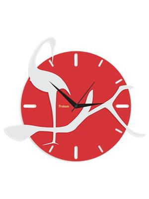 Prakum Flkt12Fma01-52 Multicolored Wall Clock