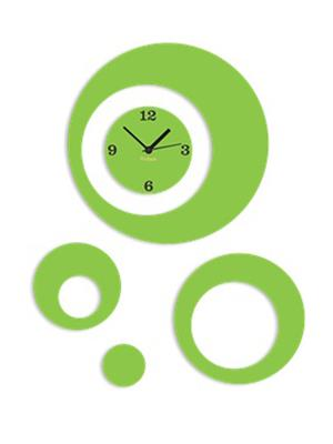 Prakum Flkt12Fma01-59 Green Wall Clock