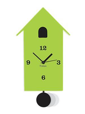 Prakum Flkt12Fma01-64 Green Wall Clock
