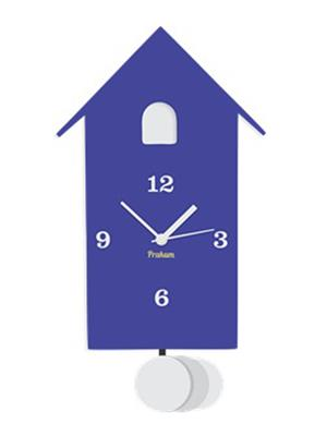 Prakum Flkt12Fma01-66 Blue Wall Clock