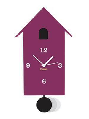 Prakum Flkt12Fma01-67 Purple Wall Clock