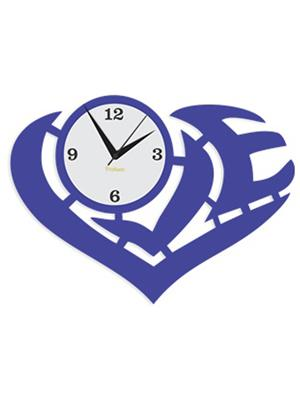 Prakum Flkt12Fma01-70 Blue Wall Clock