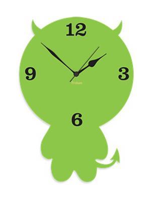 Prakum Flkt12Fma01-78 Green Wall Clock