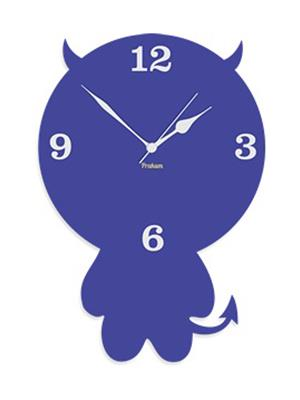 Prakum Flkt12Fma01-79 Blue Wall Clock
