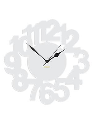 Prakum Flkt12Fma01-94 White Wall Clock