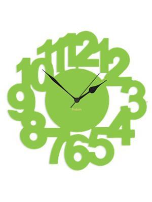 Prakum Flkt12Fma01-95 Green Wall Clock