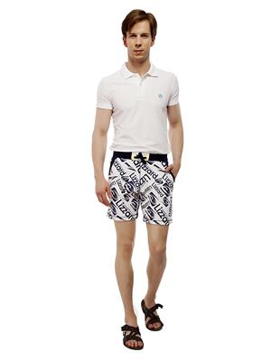 13TH Avenue FMCS03_LIZZARDPRINT Blue Men Shorts