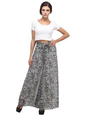 Fashion Planet FP-04 Black Women Plazzo Pants