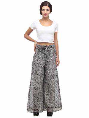 Fashion Planet FP-05 Black Women Plazzo Pants