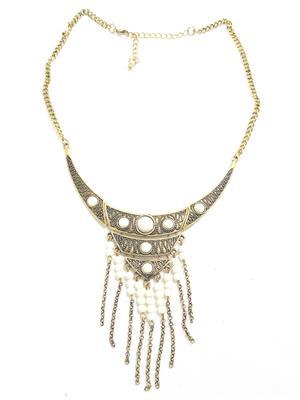 Fashion Pitaraa FPFS416450 White Women Necklace Set