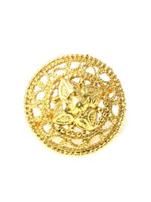 Fashion Pitaraa FPR543100 Golden Women Ring