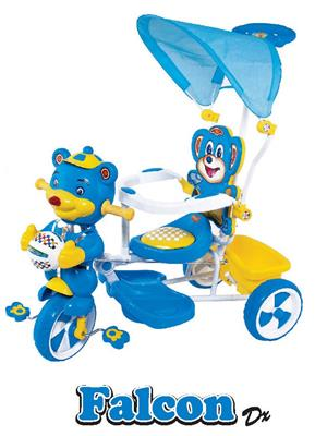 Fun Ride Fr-0002 Multicolored Tricycles