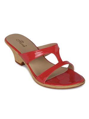 Flora FR-3986-50 Coral Women Wedge