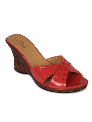 Alkawal Red Wedges Heels clearance cheap online cheap choice outlet brand new unisex 2015 new online 7sL2Wn