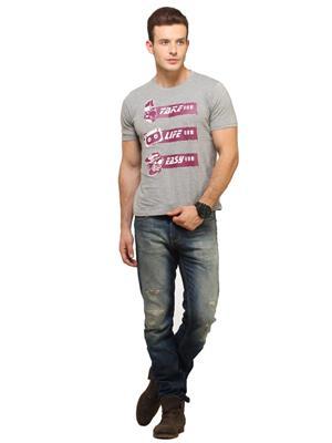 Fresh F15 Grey Men T-Shirt