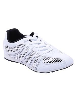Escan Fr6700023-1 White Women Sport Shoes