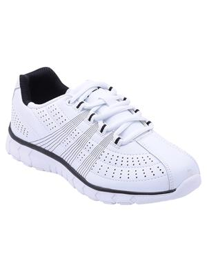 Escan Fr6700023 White Women Sports Shoes