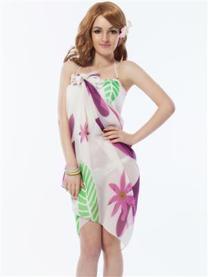 Lovemate Frbd-341 White Women Beach & Swimwear