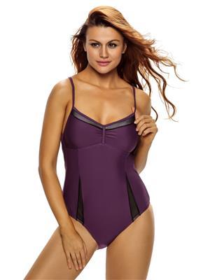 Lovemate Frbd-356 Purple Women Beach & Swimwear