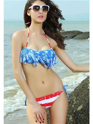 Lovemate Frbd-360 Blue Women Beach & Swimwear