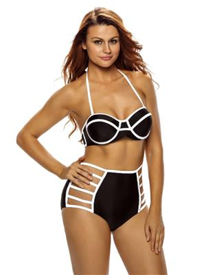 Lovemate Frbd-363 Black Women Beach & Swimwear