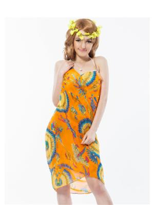 Lovemate Frbd 79 Orange Women Beach & Swimwear