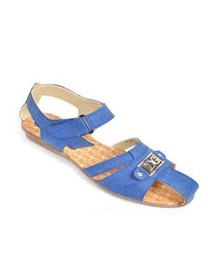 Fashbeat Fs3Bl Blue Women Sandals