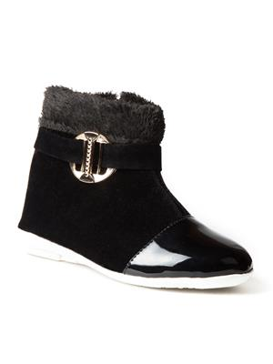 Mango People Fwks-003-Bk Black Girl Boots