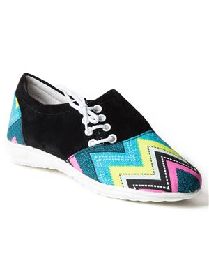 Mango People Fwks-006-Bk Black Girl Casual Shoes