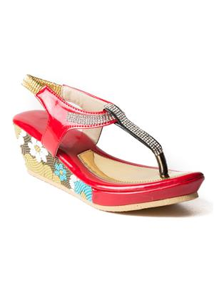 Mango People Fwks-007-Rd Red Girl Sandals