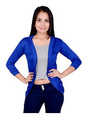 Fashion Wing FWPSG103 Blue Women Shrug