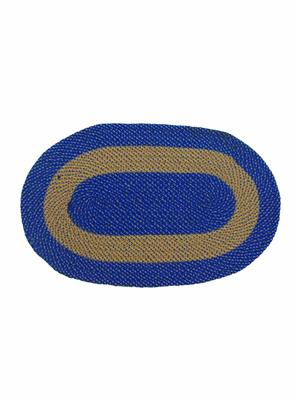 Furnishing Zone Fzdm023 Blue Floor Mat