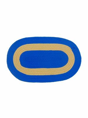 Furnishing Zone Fzdm031 Blue Floor Mat