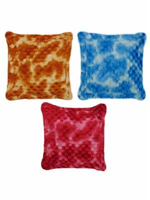 Furnishing Zone Fzfur03  Multicolor Cushions Set Of 3