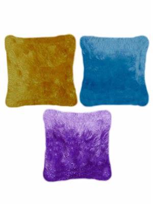 Furnishing Zone Fzfur21  Multicolor Cushions Set Of 3