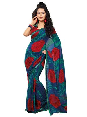 Fabdeals 110 Multicolored Saree