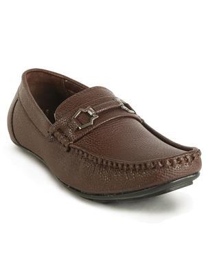 Firemark 2122 Brown Men Loafers