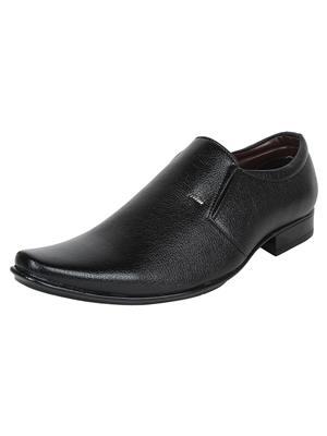 Firemark 2511 Black Men Formal Shoes