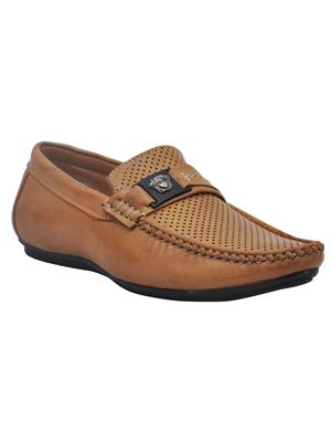 Firemark 3502 Tan Men Loafers