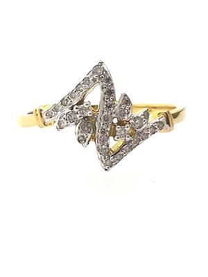 Siddhjewel G-475 Women Gold Ring