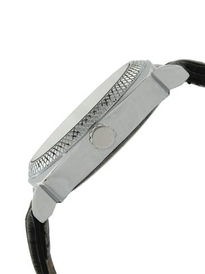 Golden Bell GB-0021WDBlkStrap White Men Analog Watch