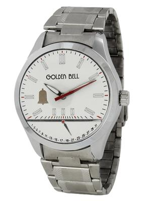 Golden Bell GB-0026WDStChain White Men Analog Watch