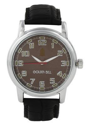 Golden Bell GB-002BrDBlkStrap Brown Men Analog Watch