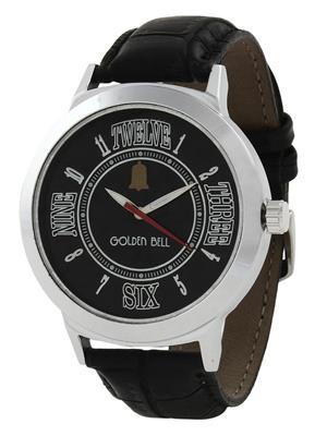 Golden Bell GB-005BlkDBlkStrap Black Men Analog Watch