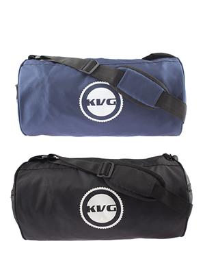 Kvg GBDR09 Black-Blue Duffel Bag Pack Of 2