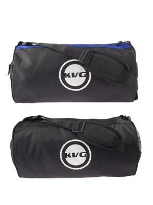 Kvg GBDR10 Black-Blue Duffel Bag Pack Of 2