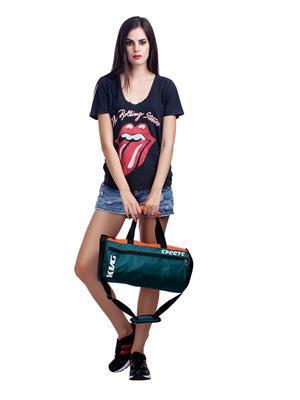 Kvg GBDR40 Green-Orange Duffel Bag