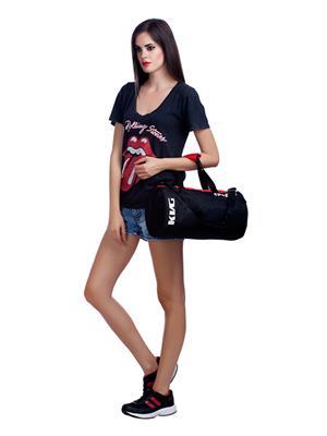 Kvg GBDR41 Black-Red Duffel Bag