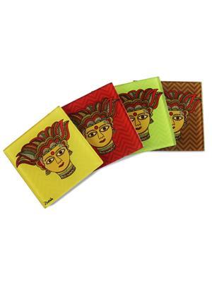 Kolorobia  GCM01 Traditional Madhubani Coasters