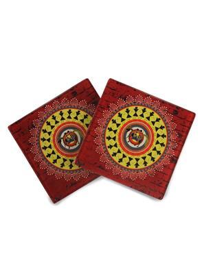 Kolorobia  GCW07 Obsessing Warli Coasters